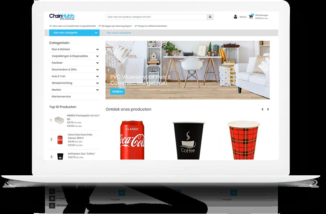 Lightspeed Webshop Groothandel